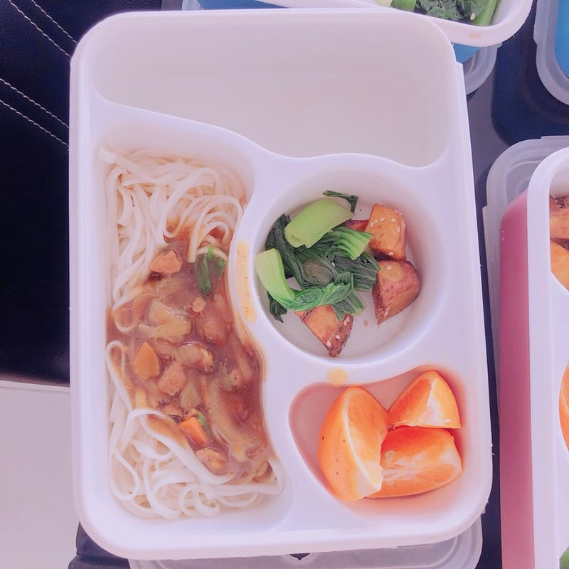 3D 宿霧語言學校 餐食1