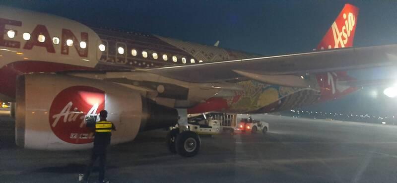 抵達克拉克機場